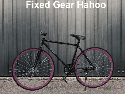 Xe đạp Fixed Gear Hahoo Màu đen – Xe đạp sành điệu dành cho người sành điệu