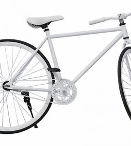 Xe đạp Fixed Gear Hahoo Màu trắng – Xe đạp sành điệu dành cho người sành điệu