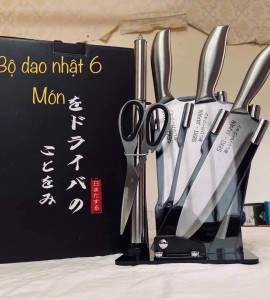 Bộ dao 6 món Seki Japan – Inox cao cấp