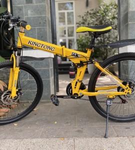 Xe đạp gấp Kingtong – Màu Vàng