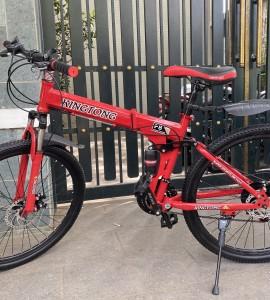 Xe đạp gấp Kingtong – Màu Cam